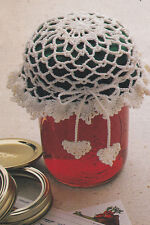 Crochet Pattern ~ THREAD JAR LID COVER ~ Instructions