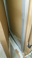 COMMERCIAL ALUMINUM STOREFRONT DOOR AND FRAME ( NEW IN BOX NO GLASS)