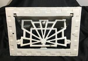 Vintage SYMONDS Art Deco Cast Iron Register Vent Grate