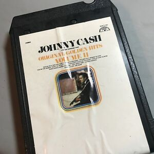 JOHNNY CASH / TENNESSE TWO Original Golden Hits Vol II 8 Track Tape