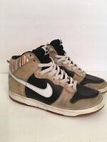 7M Nike SB Dunk High Premium Paul Ulrich Black Tan 313171-011 Rare 2006