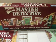 Clue Master Detective 1988 Edition Board Game 100% Complete