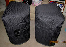 CARVIN PM15A PM 15A  Premium Padded Black Speaker COVERS (2)   Qty of 1=1 Pair!