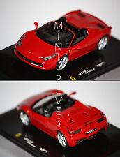 Hotwheels Elite 458 Spider 2010 rouge 1/43 W1182
