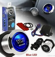 ENGINE START BLUE PUSH BUTTON SWITCH IGNITION FORD FALCON BF FG GT XT FPV XR6
