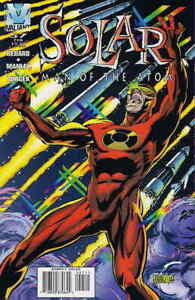 Solar, Man of the Atom #57 FN; Valiant | save on shipping - details inside