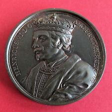 More details for henry vi 1422 - 1471 j dassier 41mm copper medal