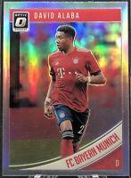 3018-19 Panini Donruss David Alaba Optic Holo #23 - FC Bayer Munich
