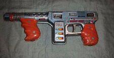 Vintage 1960s TN Tin Litho Japan Burp Gun Bullets Move-Noise Space Raygun