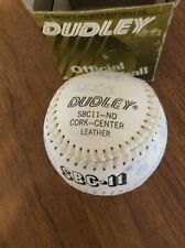 Dudley Sbc11-Nd Leather Softball Signed From Team In 1996 With Box