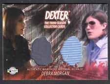 DEXTER SEASON 3 (Breygent) COSTUME CARD #D3 - C19 DEBRA MORGAN