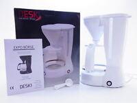 Deski Kaffeemaschine Kaffeeautomat 1,5 Liter 800W mit Glaskanne 12 Tassen NEU