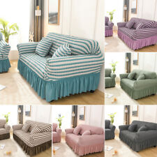Stretchable 1/2/3/4 Seater Sofa Cover Slipcover Settee Couch Protector Home Deco