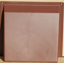 "9"" x 9"" Brown Air Brick Cowl Cover Vent Blast Surface Mounted Openings Grilles"