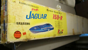 RARE Japanese Jaguar 150-R KNK 1500mm long Model RC Racing Boat Kit, Unbuilt