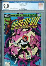 Daredevil #169 (Marvel 1981) CGC Universal Grade 9.0 White Pages
