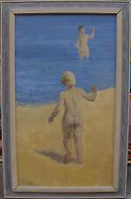 Arne Eriksson *1936, weibliche Akte am Strand, datiert 1965