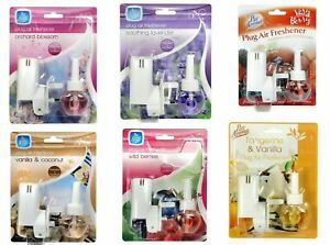 Pan Aroma Plug in Air Freshener With Liquid Refill Choice Of Different Fragrance