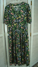 "Vintage German Dirndl XL/UK20/EU46 46"" Bust Traditional Floral Tracht Dress"