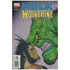 Hulk/Wolverine: 6 Hours #2 in Fine + condition. Marvel comics [*vm]