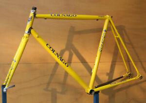 Vintage 1990's Colnago Crystal Columbus steel frame frameset 55 cm Campagnolo