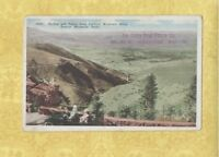 CO Denver 1908-29 postcard ALPHA REAL ESTATE CO 627 19TH ST COLORADO STAMP