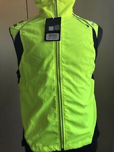 Endura Cycling Vest Laser Gilet SZ. Medium High  Visibility Castlelli Assos