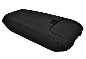 Center Console Lid Armrest Cover Leather for Jaguar SK8 SK SKR 97-06 Black