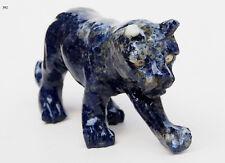 Extravagant Royal blau Lapis lazuli Löwe tier figur briefbeschwere lion Nr:392