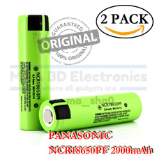 2x Panasonic NCR 18650PF 2900mAh Rechargeable Battery for SMOK G-Priv Alien Mods