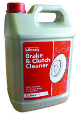 Vetech 5L Brake Clutch And Parts Cleaner 5 Litre Bottle Fluid Solvent Degreaser