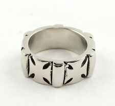 Stainless Steel Cross Band Ring - Free Gift Packaging