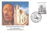 Cartolina - Postcard - Venetico - Parrocchia S. Nicolò - Timbro 350 anniversario