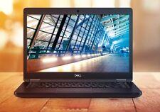 """Dell Latitude 5490 14"""" FHD Quad-Core i5-8350U 8GB 256GB SSD Webcam W10P Warranty"""