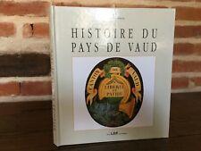 Lucienne HUBLER HISTOIRE DU PAYS DE VAUD L.E.P 1991