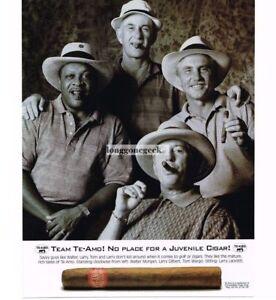 1997 Te-Amo Cigars Vintage Print Ad