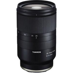 Tamron 28-75mm F2.8 Di III RXD Lens Sony E-Mount