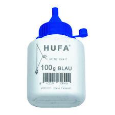 Puder Kreide f. Hufa Schlagschnurgerät 100g blau Schlagschnurkreide Schlagschnur