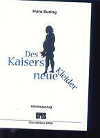 """"""" Des Kaisers neue Kleider """" Kindermusical von Hans Buring mit CD"""