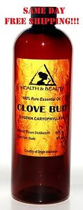 CLOVE BUD ESSENTIAL OIL ORGANIC AROMATHERAPY 100% PURE NATURAL 16 OZ