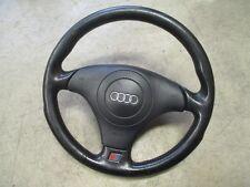 S-Line Sportlenkrad Audi A6 4B Lederlenkrad Lenkrad schwarz 4B0124A