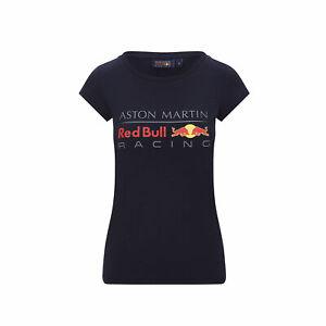 Red Bull Racing Logo Ladies T-shirt Black (L)