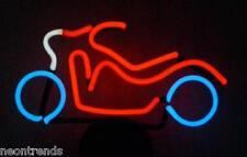 Motorrad @ Neonleuchte Neon signs Leuchtreklame Motor Bike sign Leuchte Werbung
