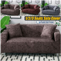 1/2/3 Seats Stretch Spandex Chair Sofa Couch Cover Elastic Slipcovers For Decor