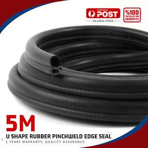 Car Rubber Seal Trim Door/Edge/Trunk/Window Pinch Weld Anti Heat-Noise-Dust 5Ms