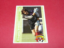 GREGORY WIMBEE CHARLEVILLE FRANCE FOOTBALL CARD PANINI 1994