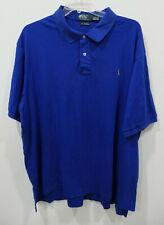 Polo Ralph Lauren Pima Soft Touch 2 Button Shirt Men's Size 3XLT Tall Blue