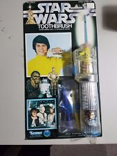 Scarce** VINTAGE 1977 KENNER STAR WARS ELECTRIC TOOTHBRUSH SET MOC