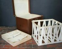 Stunning Vintage Hatbox Trunk With Liner & Tray
