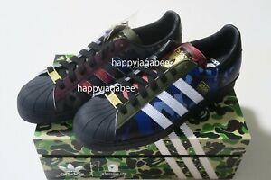 A BATHING APE Footwear BAPE x adidas Originals SUPERSTAR 80S BAPE CAMO New